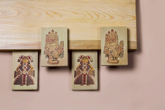 Play Clan: Pocket-sized journals with artworks inspired from Jawahar Kala Kendra.