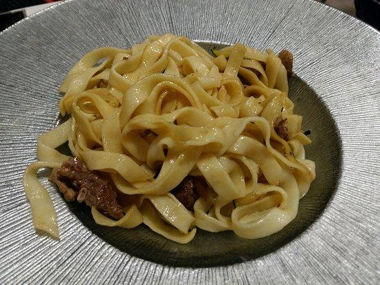 Ropavieja Restaurante de Tapas: La aburrida pasta