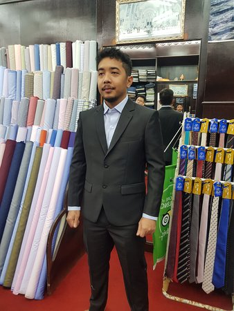 De' MARCO Fashions: A very happy client from Malaysia.