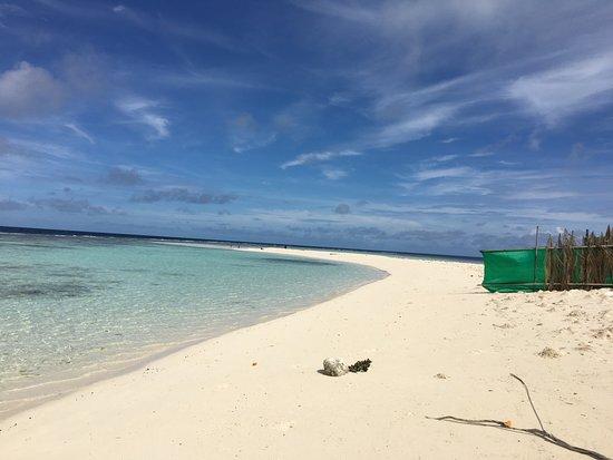 Omadhoo Island: Bikinibeach