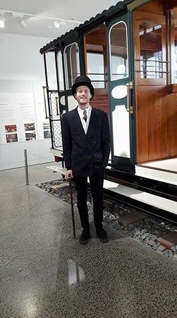 Xplor Tours: Ryan you look great in 1900 attire
