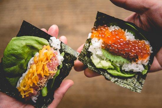 Gonpachi Nori-Temaki Harajuku: Made to order served with warm rice and crispy nori