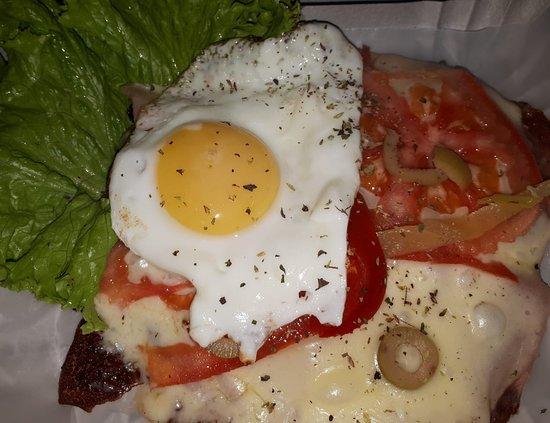 Lo del Tio Bar Terminal: Pollo relleno con salsa 4 quesos!!!