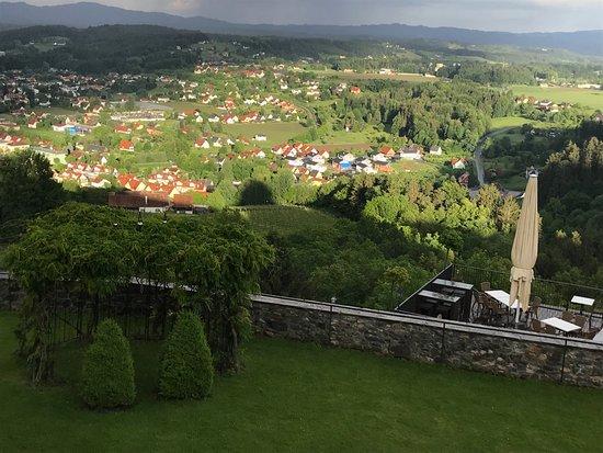 Blick über Deutschlandsberg