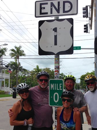 Key Largo Bicycle and Adventure Tours : All finished