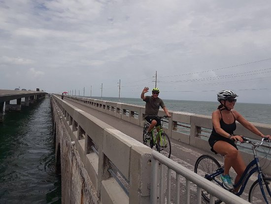 Key Largo Bicycle and Adventure Tours : On the way to Key West