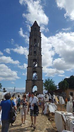 Iznaga Tower: Torre iznaga. Valle de Los Ingenios - Trinidad - Cuba