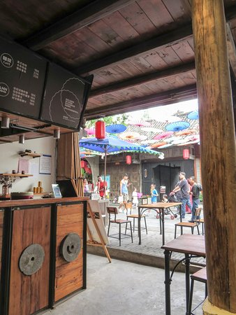 Anren Ancient Town: lovely cafe