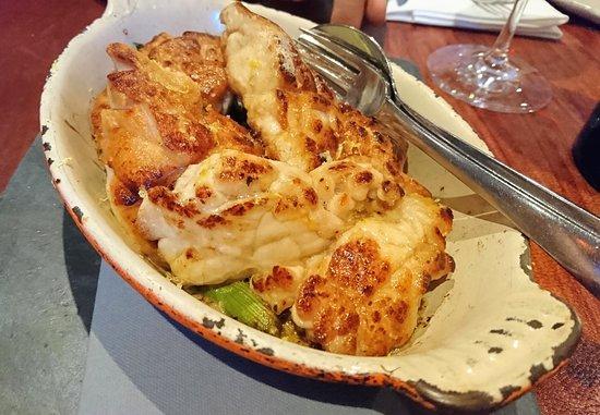 Restaurant Palegrie: Riz de veau grillés, ail nouveau