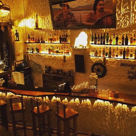 Las Cuevas de los Rajahs : Upstairs bar
