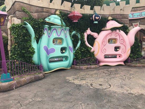 Tokyo Disneyland: alice in wonderland vending machine