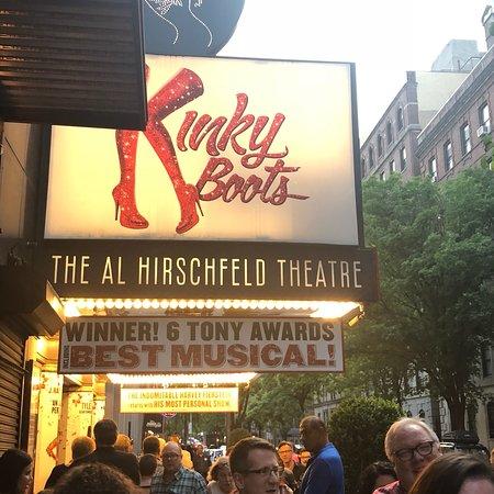 Kinky Boots on Broadway Photo