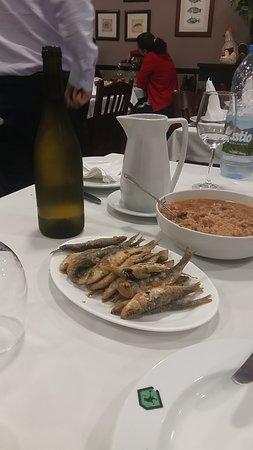 Restaurante Casa Pega: sardinas