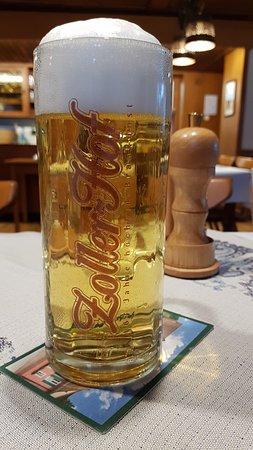 Stuehlingen, Germany: gutes Zollerhof-Bier