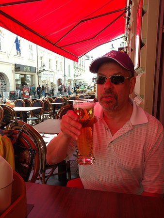 Infiniti Rock cafe: Beer is always the best value in Bratislava