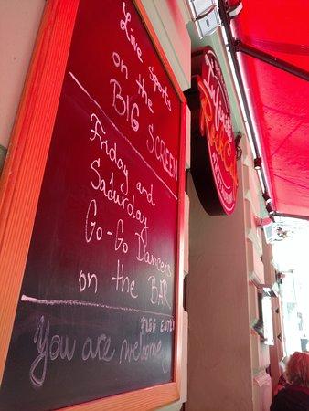 Infiniti Rock cafe: today's specials at Infiniti