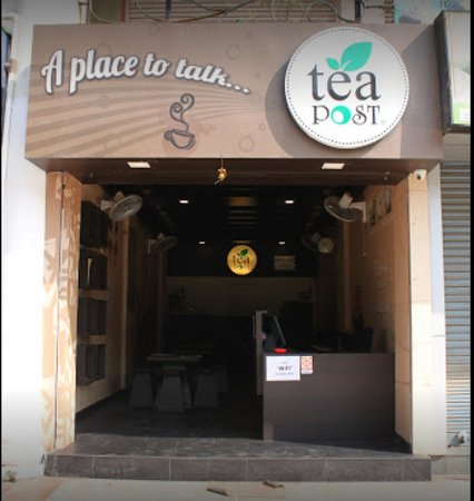 Tea Post: Nice place with reasonable rates. Prahladnagar shop.