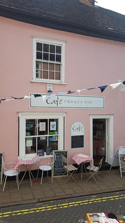 Cafe 21 : Looking beautiful on Trinity Festival Day