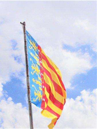 Castle Baneres: Bandera valenciana