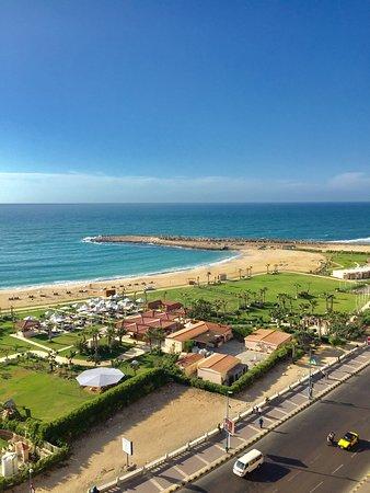 Eatabe Alexandria Hotel: View from the room balcony