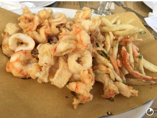 Cumà - cucina di mare: fritto misto