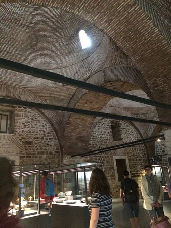Selcuk Sebilcioglu - Your Tour Guide Private Tours: The inside of one of the kitchens - currently used to display beautiful ceramics used in the pal