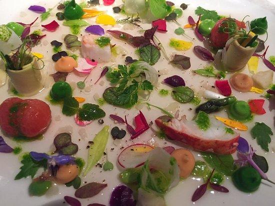 """Martin Berasategui: La fameuse """"salade"""" :-)"""