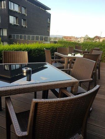 Lucky Bansko Aparthotel Spa & Relax: Outside area