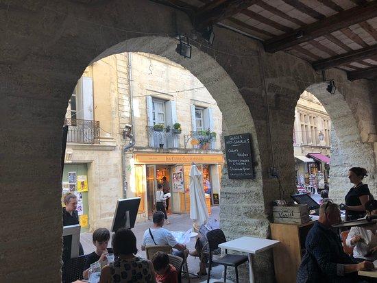 La Glacerie d'Uzes: Fellow diners