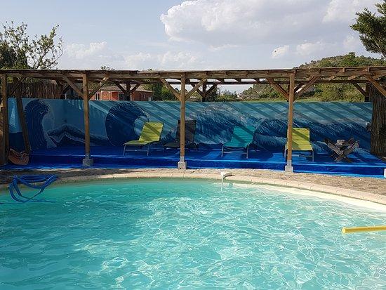 Banne, Frankrike: Notre piscine chauffée et sans chlore
