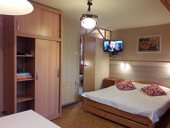 Villa Martin: Pokój trzyosobowy. Część sypialna.