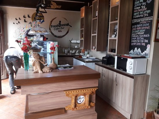 freshpresso coffee bar in bhaktpur durbar square