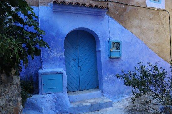 Chefchaouen, Marocco: A beleza das portas