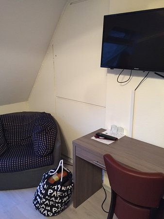 Hotel CityInn: Doppelzimmer ganz oben