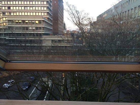 Hotel CityInn: Doppelzimmer ganz oben mit Blick zum Dom
