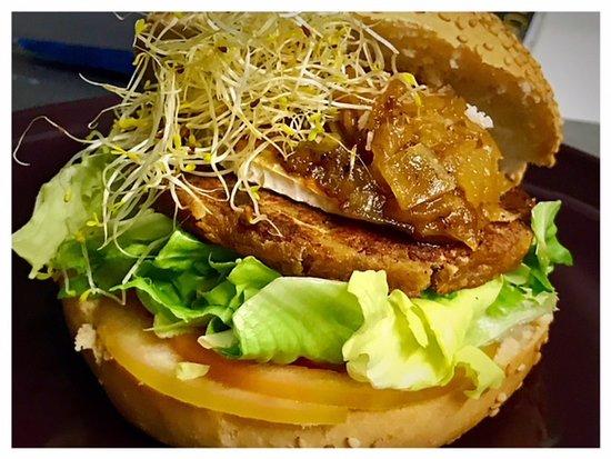 Boira Pineda : Hamburguesa Vegetariana de Alcachofas