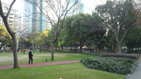 Grand Mercure Shanghai Hongqiao: 近隣の公園で、早朝、気持ち良く散歩させていただきました。
