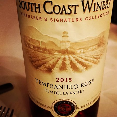 The Vineyard Rose at South Coast Winery Photo