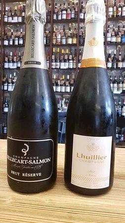 Enoteca Verso: Billecart, champagne classico di gran bevibilità. Lhuillier, piccolo produttore di champagne