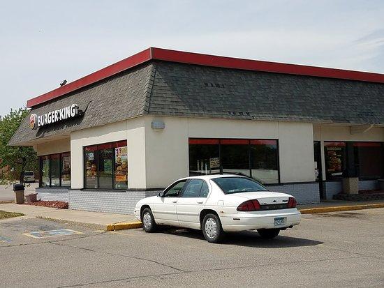Fergus Falls, MN: Parking Lot View.
