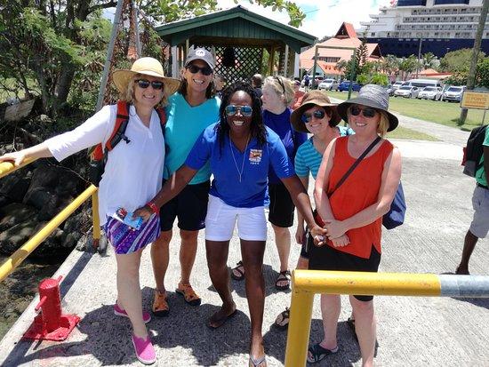 Rainbow Divers Inc. St. Lucia : Always fun in the Rainbow Divers Love Van