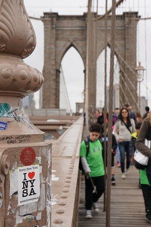 สะพานบรู๊คลิน: We love NYC