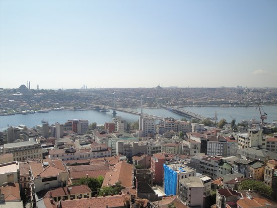 Galata Tower: View from the tower