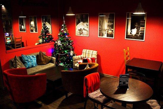 Jeffrey's Coffee Arbat : Мы заботимся о том, чтобы наши гости чувствовали уют и теплую атмосферу!
