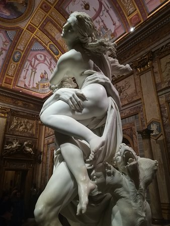 Tour Guide Erik: Borghese Gallery, the Rape of Proserpina is one of the most beautiful Museums in Rome