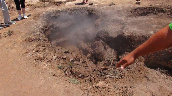 Hervideros de San Jacinto: spot de boue bouillonnante