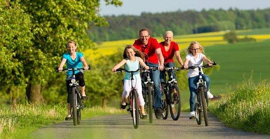 Jelesnia, Polen: na miejscu do wypożyczenia rowery górskie, za odpłatnością. Przygotowane trasy rowerowe czekają.