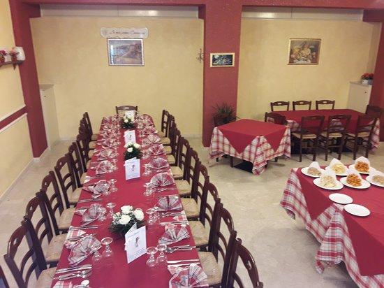 Sant'Angelo di Brolo, Italy: sala