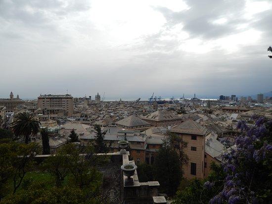 Villetta di Negro: Вид на город