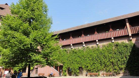 Kaiserburg Nurnberg: Panorama zamku